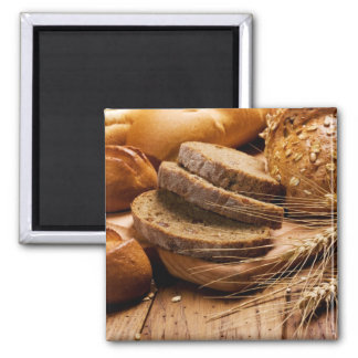 Bread and Wheat Magnet