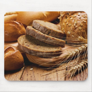 Bread and Wheat Mouse Pad