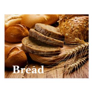 Bread and Wheat Postcard