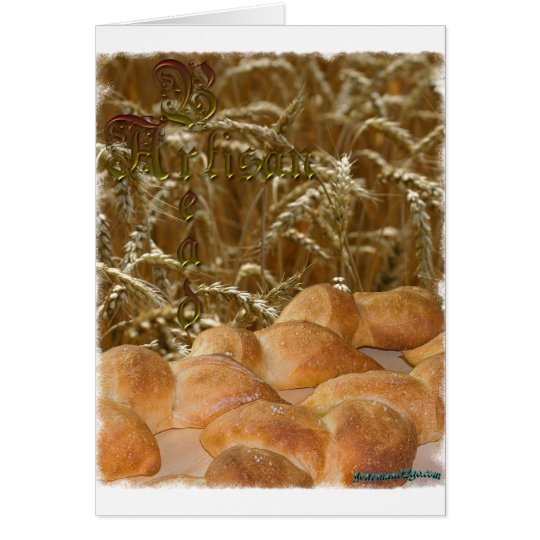 Bread Artisan Card