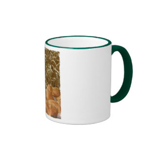 Bread Artisan Ringer Coffee Mug