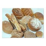 Bread assortment custom invite