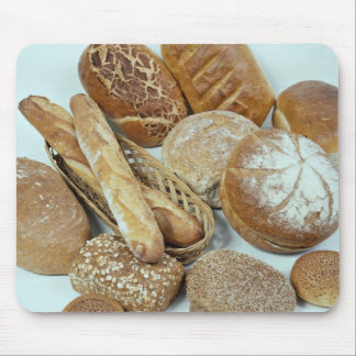 Bread assortment mouse pad
