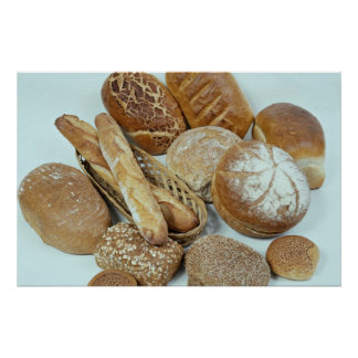 Bread assortment poster