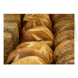 Bread at the Schenectady Green Market Stationery Note Card