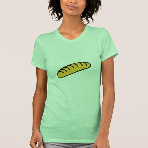 Bread baguette tee shirt