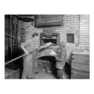 Bread Bakers, 1917 Postcard