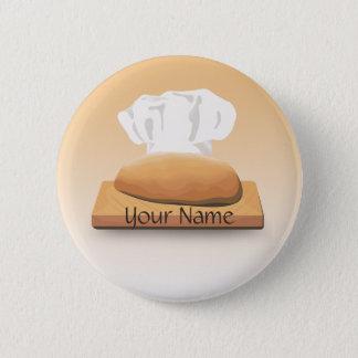 Bread Bakery Name Button