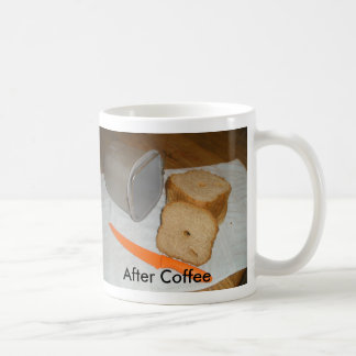 Bread Before and After Coffee Mug