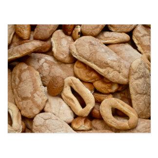 Bread, bread, bread postcard