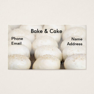 Bread Buns with Sesame Seeds Business Card