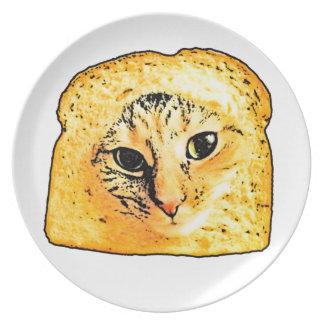 Bread cat Bread Plate