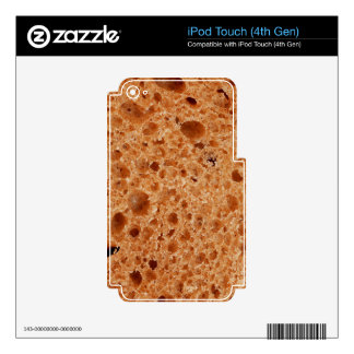 Bread Close Up Print - Weird Unique Gift iPod Touch 4G Decal