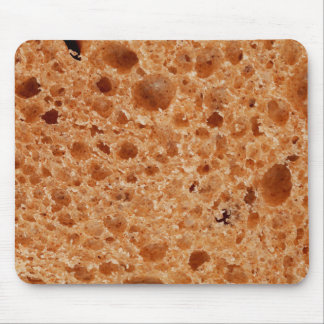 Bread Close Up Print - Weird Unique Gift Mouse Pad
