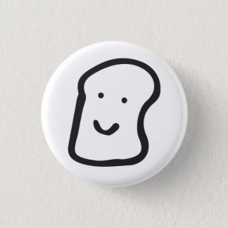 bread club badge pinback button