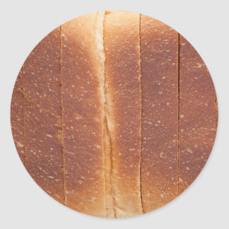 Bread crust classic round sticker