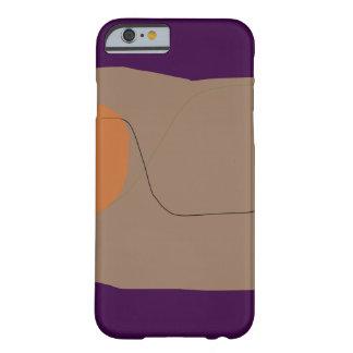 Bread Dark Purple Barely There iPhone 6 Case
