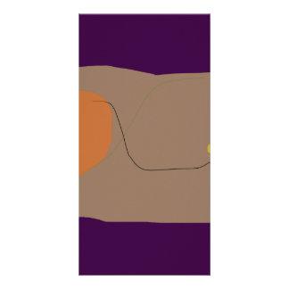 Bread Dark Purple Card