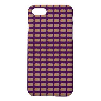 Bread Dark Purple iPhone 8/7 Case