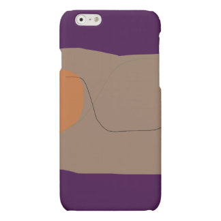 Bread Dark Purple Matte iPhone 6 Case