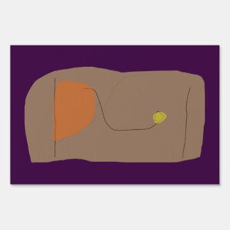 Bread Dark Purple Sign