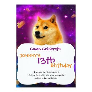 bread  - doge - shibe - space - wow doge card