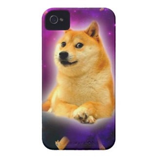 bread  - doge - shibe - space - wow doge Case-Mate iPhone 4 case
