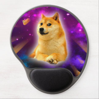 bread  - doge - shibe - space - wow doge gel mouse pad