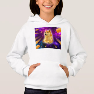 bread  - doge - shibe - space - wow doge hoodie