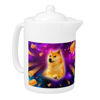 bread  - doge - shibe - space - wow doge teapot