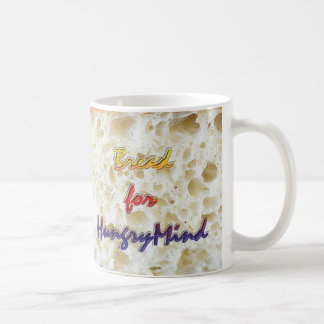 Bread for Hungry Mind Classic White Coffee Mug