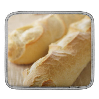 Bread, french stick iPad sleeves