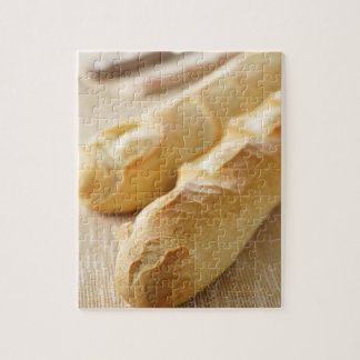 Bread, french stick jigsaw puzzle
