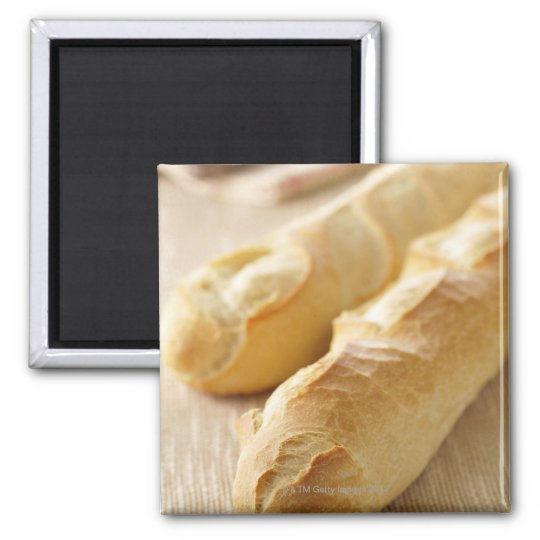 Bread, french stick magnet