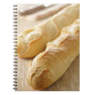 Bread, french stick notebook