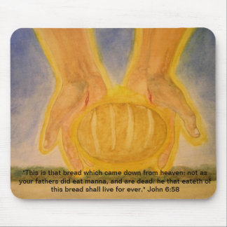 Bread From Heaven Mouse Pad