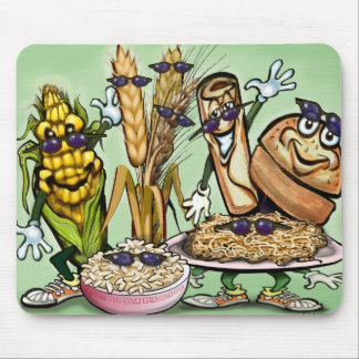 Bread Grain Food Group Mouse Pad
