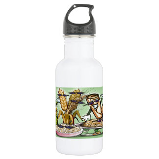 Bread Grain Food Group Stainless Steel Water Bottle