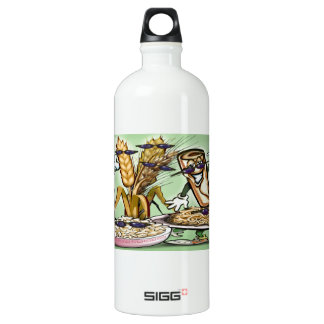 Bread Grain Food Group Water Bottle