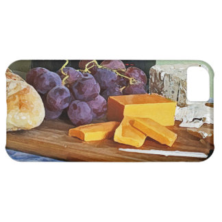 Bread Grapes Cheddar and Blue Cheeses Still Life iPhone 5C Case