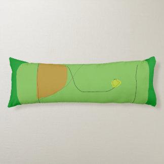 Bread Green Body Pillow