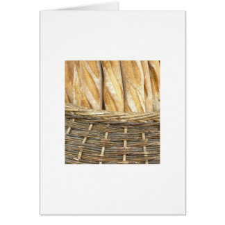Bread in a Basket Stationery Note Card