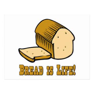 Bread is Life Postcard