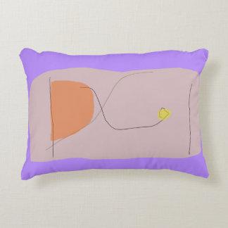 Bread Lavender Accent Pillow
