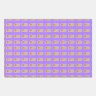 Bread Lavender Lawn Sign