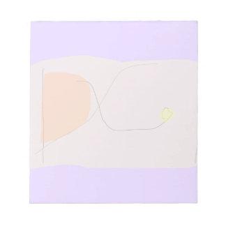 Bread Lavender Note Pad