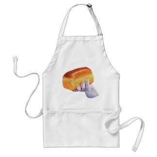 Bread Loaf Baking Art Retro Vintage Kitsch Adult Apron