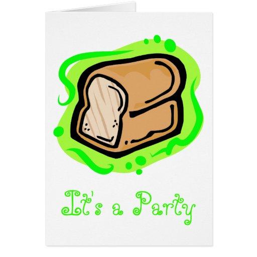 Bread Loaf Greeting Card
