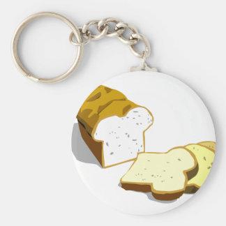 Bread loaf key chains