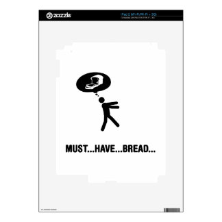 Bread Lover Decal For The iPad 2